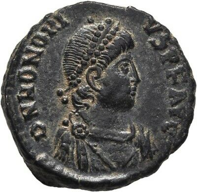 Lanz Rome Honorius Ae3 Virtus Emperor Crown Victory Antioch Ae ±Mbr1145