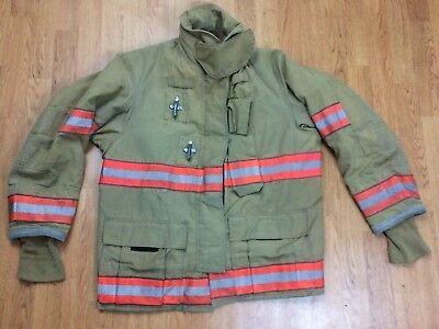 Globe GX-7 Firefighter Bunker Turnout Jacket 42 Chest x 32 Length