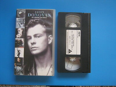 JASON DONOVAN - ALL AROUND THE WORLD (1993) Feature Length Video - RARE VHS