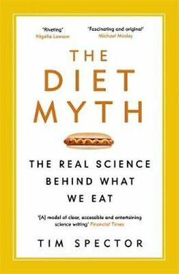 NEW The Diet Myth By Tim Spector Paperback Free Shipping