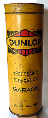DUNLOP NECESSAIRE REPARATION GARAGE code SACOR - NO MICHELIN - 1950/60