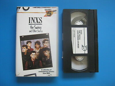 INXS - THE SWING AND OTHER STORIES (1985) Michael Hutchence - RARE VHS