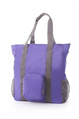 NEW Samsonite Travel Accessories  Foldable Tote Bag - in LILAC -  Luggage