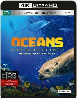 Oceans: Our Blue Planet [New 4K UHD Blu-ray] With Blu-Ray, 4K Mastering, Amara