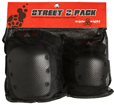Triple Eight Street 2-Pack Pad Set Triple8 Street-2 Elbow/knee Xs