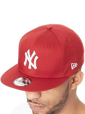 fb4a1abc76b New Era Hot Red-White League Essential 9Fifty New York Yankees Snapback Cap