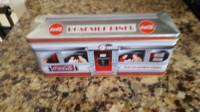 Roadside Diner Coca-Cola Tin