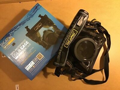 Dicapac WP-S10 Underwater 5m case for DSLR cameras - Used excellent condition.