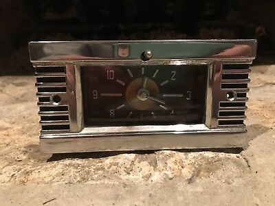Vintage Jaeger 40S- 50S Car Dashboard Clock Possible Chrysler