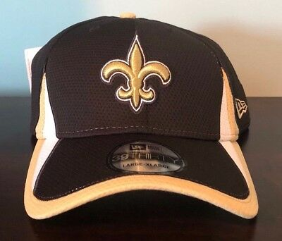 d70ec78af Authentic NFL New Orleans Saints New Era 39Thirty Stretch Baseball Cap Hat ( NEW)