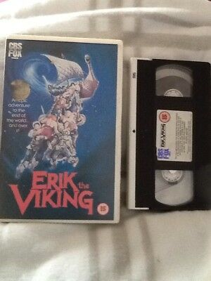 Erik The Viking - Double Sided Sleeve  Big Box 80s VHS . . Pre Cert Int