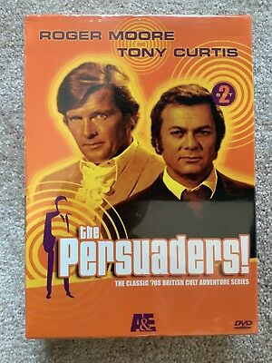 The Persuaders Set 3 BRAND NEW SEALED DVD SET 70's British Series
