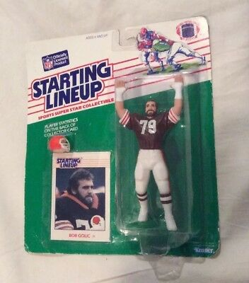 1988 Starting Lineup Football  - Bob Golic - Browns Figure Collectible