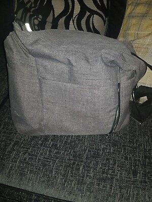 stokke black melange pram bag