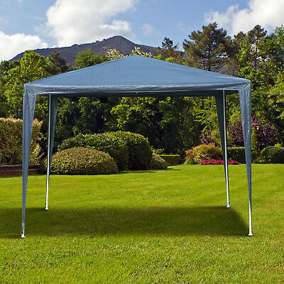 Party Gazebo Tent Event Shelter Outdoor Sunshade with Carrying Bag Blue
