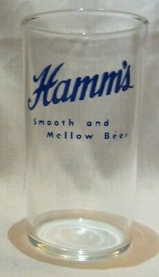 Hamm's Beer Smooth and Mellow Beer Glass