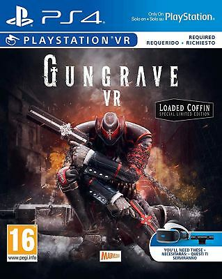 Gungrave Vr Loaded Coffin Edition Ps4 Game