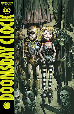 Doomsday Clock #6 Dc 2018 Standard Cover Stock Image