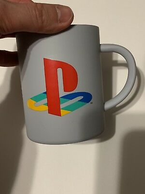 Official Classic Sony Playstation Ps4 Logo Metal Aluminum Coffee Mug