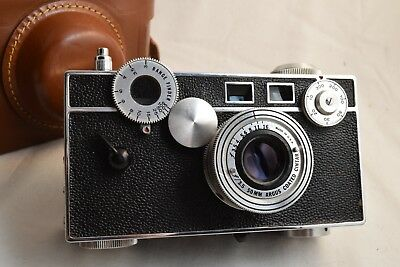 Argus C3 35mm Film Camera,and Case - Tested EXC