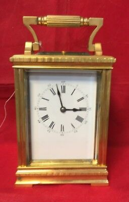 Large French Carriage Clock