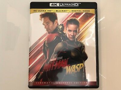 Ant-Man And The Wasp (2018) 4K + Blu Ray + Digital Code