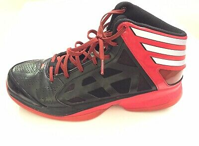 reputable site fc1f3 f1b94 Adidas Mens Crazy Shadow basketball shoes G48815 size 9 M red  black