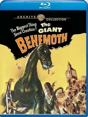 The Giant Behemoth [New Blu-ray] Manufactured On Demand, Subtitled, Amaray Cas