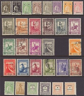 Angola - Small Country Collection - Mint & Used