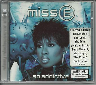 Missy Elliott Miss E So Addictive Oz 2Cd Promo/sample+Limited Edition Bonus Disc