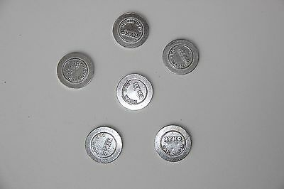 Ryko Car Wash Tokens collectible