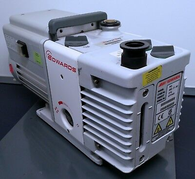 Edwards RV3 Rotary Vane Single Stage Vacuum Pump 20 and 9 micron Tested