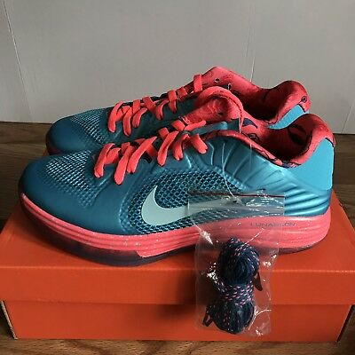 finest selection b08f3 c4f4e Nike Lunar Hypergamer Low Rose Classic Size 8.5 DS