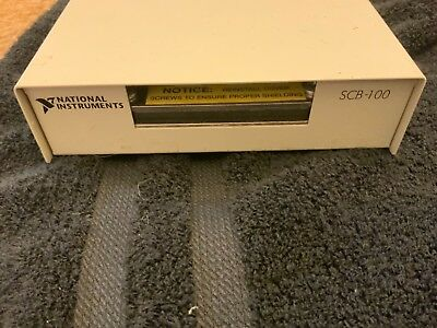 National Instruments NI SCB-100 Shielded I/O Connector Block / Screw Terminal