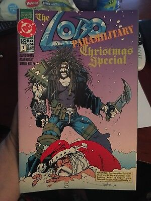 Lobo Paramilitary Christmas Special #1! In VF/NM Condition! WOW! LOOK!