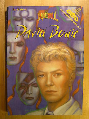 Rock N Roll David Bowie No 56 1993 Revolutionary Comic Book Nice Condition