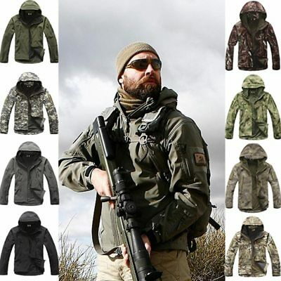 Outdoor Sport Softshell TAD Jacket Tactical Sets Men's Camouflage Hunting