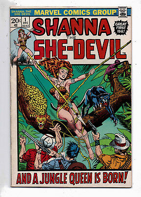 Shanna the She-Devil #1, Marvel, 1972, F+ condition