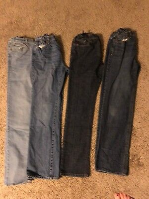Lot Of Four Old Navy Boys Jeans Size 16