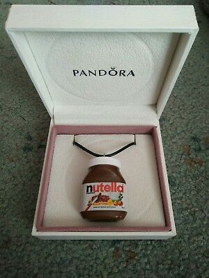 Coles little shop mini Rare Nutella Necklace gift boxed Free Postage