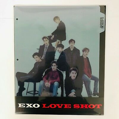 SM Town EXO The 5th Repackage Album [Love Shot] Official Goods : Binder Index