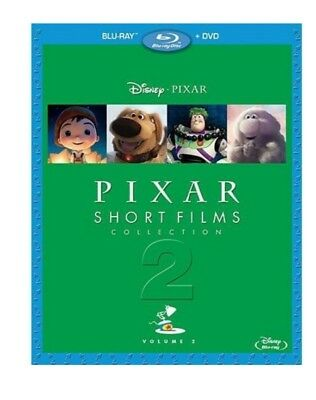 Pixar Short Films Collection: Volume 2 - 2-disc Blu-ray Combo Pack (Blu-ray ...