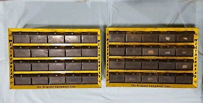 Weatherhead Parts Cabinets - 2 for 1 Money - Total of 40 drawers with dividers