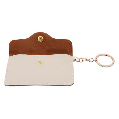 Small Coin Money Pouch Credit Card Holder Key Holder Purse Wallet With Ring L