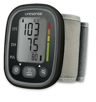 New Digital Blood Pressure Monitor Automatic Wrist Style Dual User Free Postage