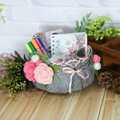 Craft DIY Package Sundries Storage Basket Sewing Kit Home Decor Accessory L