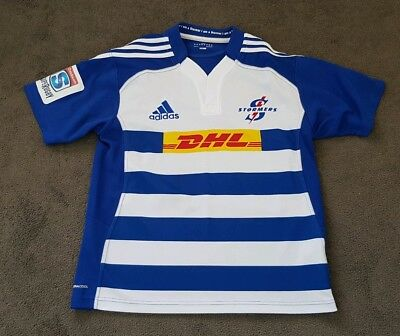 Adidas Cape Town DHL Stormers Super Rugby Jersey Size L