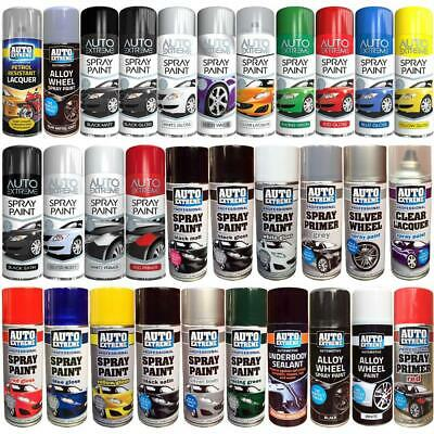 Spray Paint Aerosol Auto Car Primer Matt Gloss Lacquer Restore Metal 250ml 400ml