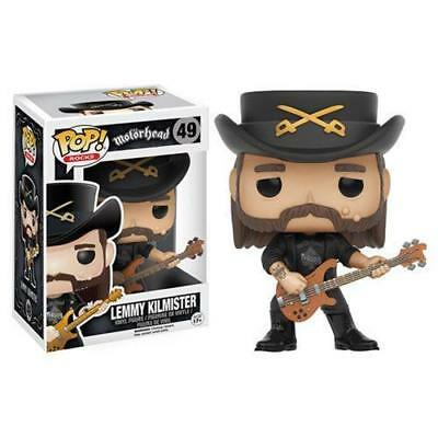 FUNKO POP! Rocks LEMMY KILMISTER New MOTORHEAD HAWKWIND metal