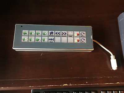 QSR KP4000 Bump Bar Keypad in excellent condition Windows Operating system
